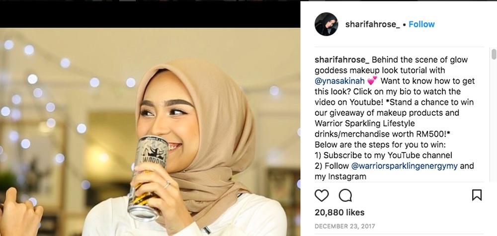 Sharifah Rose Sharifahrose Ig Photo Sponsored Post Getcraft