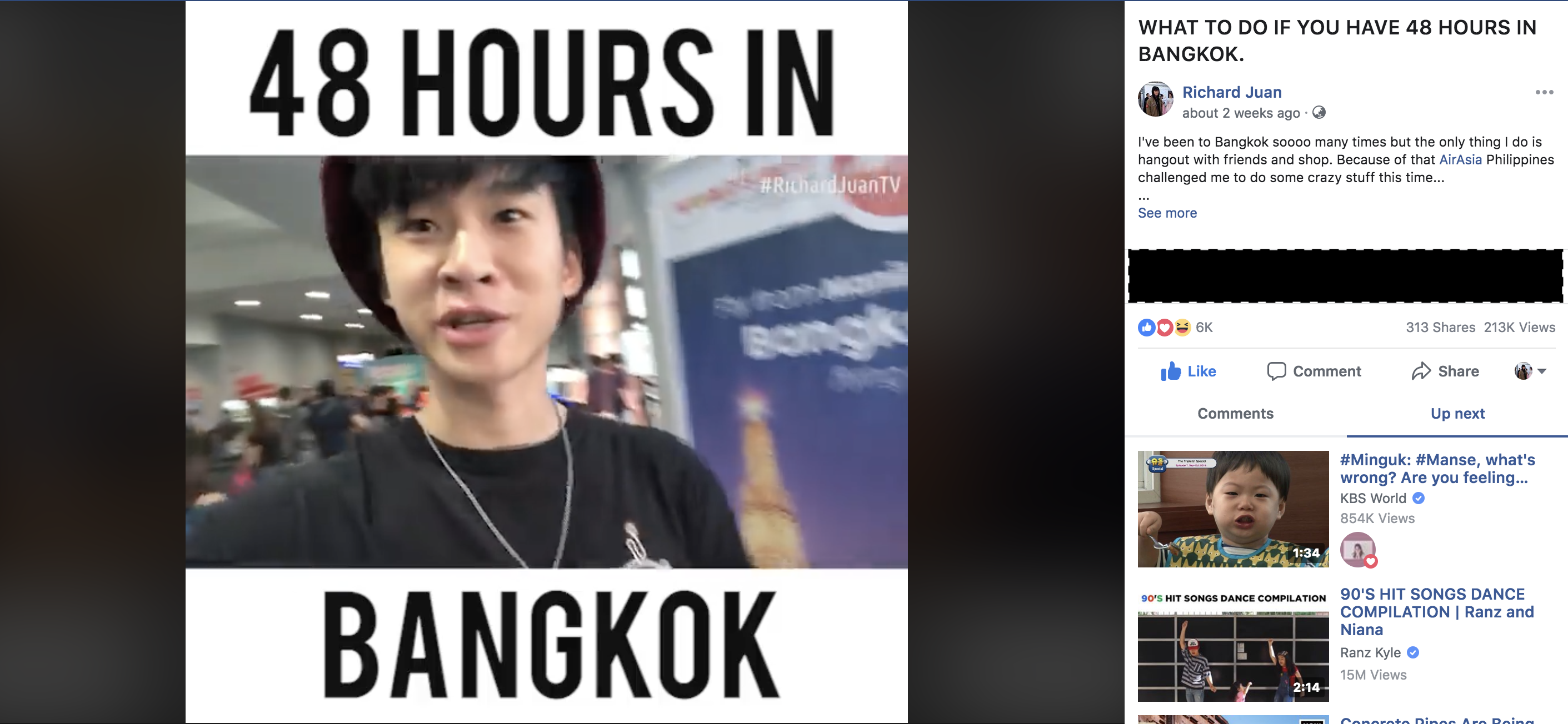 facebook video /@richardjuan